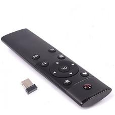 Универсальный пульт черный для SMART TV , ANDROID ,  Linux , MacOS , Windows .