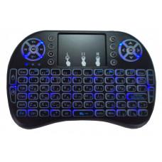 Беспроводная USB клавиатура  c тачпадом и подсветкой Mini Keyboard