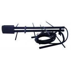 Комнатная антенна  EMA-14 с усилителем 3м кабель ,5-15км.