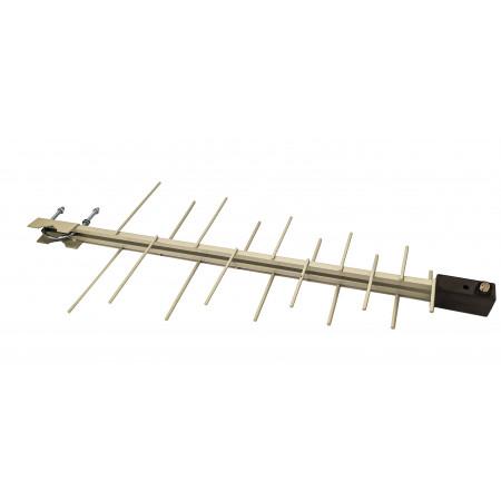 Антенна наружная логопериодическая c усилителем  102/20-P метал.