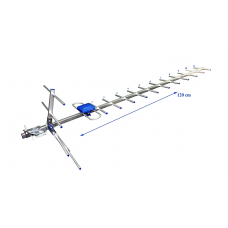 Наружная антенна МИР-19 Eurosky 1.2м.  Пассивная до 50км.