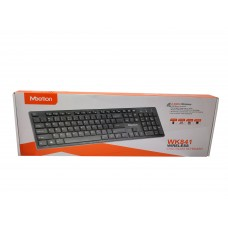 USB беспроводная клавиатура RU Ukr EN черная WK841 TM Meetion