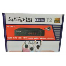 Т2 ресивер тюнер Satcom T505 YouTube+IPTV