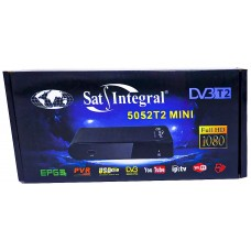 Т2 ресивер тюнер SatIntegral 5052T2 mini  + интернет