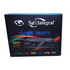 Т2 ресивер тюнер SatIntegral 5052T2  метал  + интернет