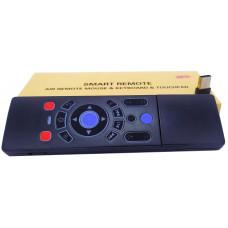Пульт для андроид приставок T8 с голосовым управ.  Гироск. Подсветка 7цветов . Русско язычная клавиатура .