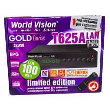 Т2 ресивер  World Vision T625A LAN +IPTV
