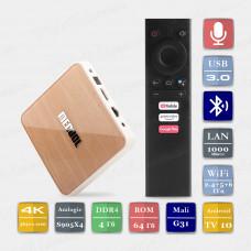 Андроид приставка KM6 S905X4  4/32 Гарантия 6м