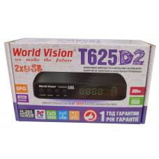 Т2 ресивер  World Vision T625D2+IPTV