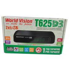 Т2 ресивер  World Vision T625D3 +IPTV