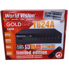 Т2 ресивер  World Vision T624A +IPTV