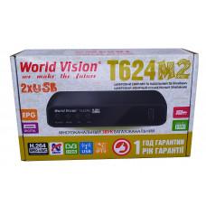 Т2 ресивер  World Vision T624M2 +IPTV