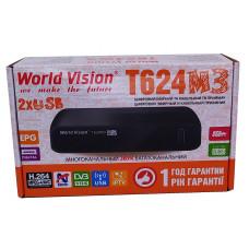 Т2 ресивер  World Vision T624M3+IPTV