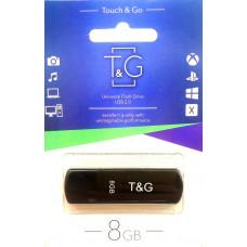 USB флеш T&G 011 Classic series 8GB Black