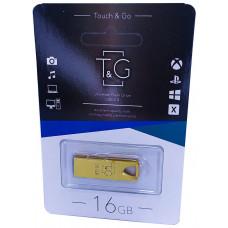 USB флеш T&G 117 золото Metal series 16GB
