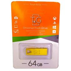 USB флеш T&G 117 золото Metal series 64 GB