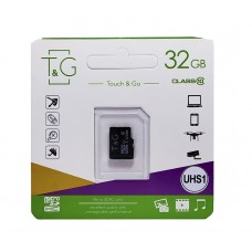 micro SDHC карта памяти T&G 32GB class 10 (без адаптера)