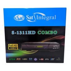 Комбо Т2 тюнер и спутниковый тюнер S1311HD COMBO ТМ Sat Integral.