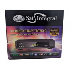 Спутниковый тюнер Sat Integral S-1228  HD HEAVY METAL