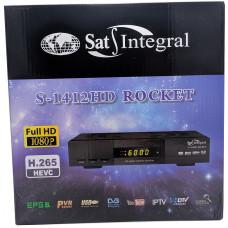 Спутниковый тюнер S-1412HD ROCKET ТМ . Sat Integral
