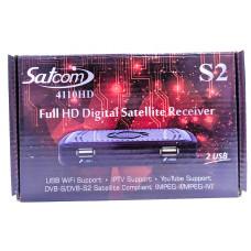 Спутниковый  тюнер Satcom 4110 HD