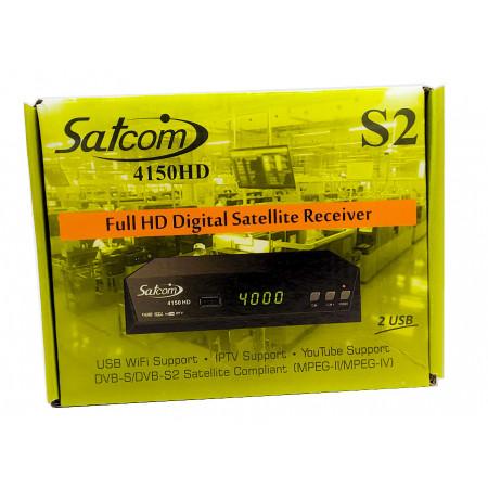 Спутниковый  тюнер Satcom 4150 HD