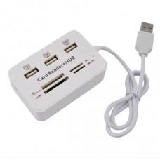 USB концентратор Combo  Card Reader+HAB