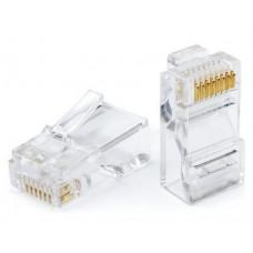 Штекер комп. 8P8C (RG45) 100шт